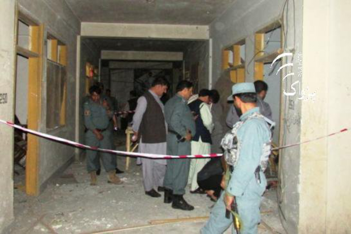 IED Explodes Outside Afghan News Agency In Jalalabad