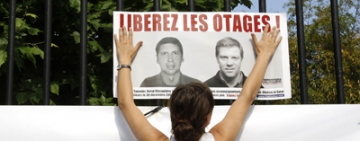 Two French reporters freed