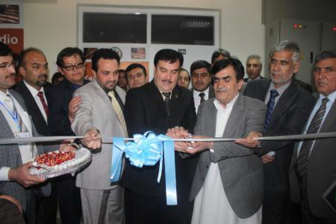 Media Operations Center inaugurated at Kabul University