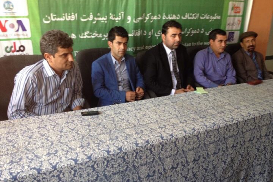 Journalists announce week-long boycott of Balkh police coverage