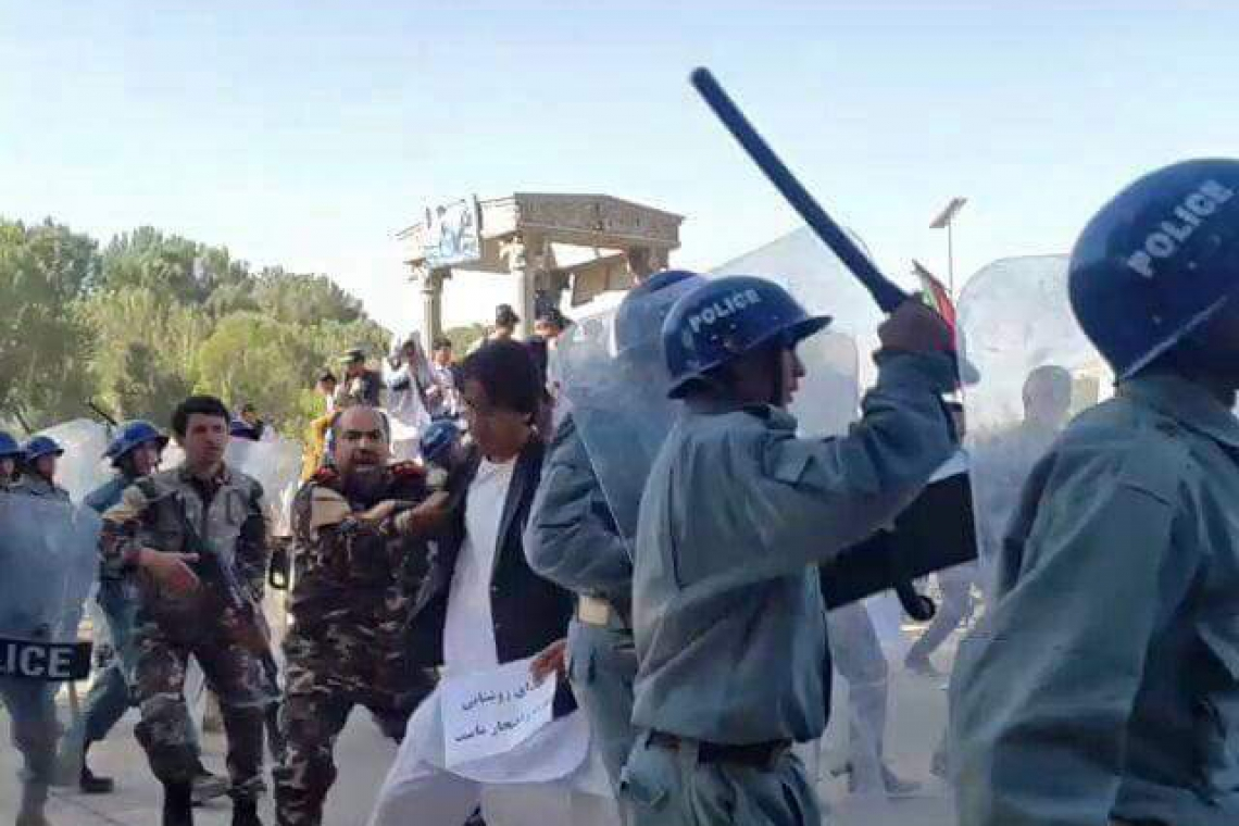 Security Forces Assault Reporters in Center Bamiyan province
