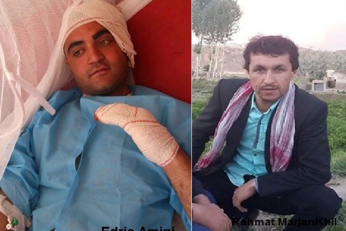 AFJC condemns police for beaten up a TV journalist in Herat