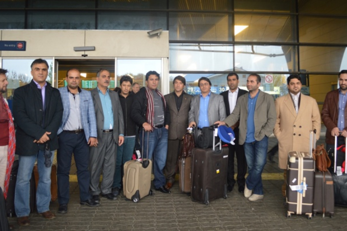 A Delegation of Afghan Journalists visits Russia