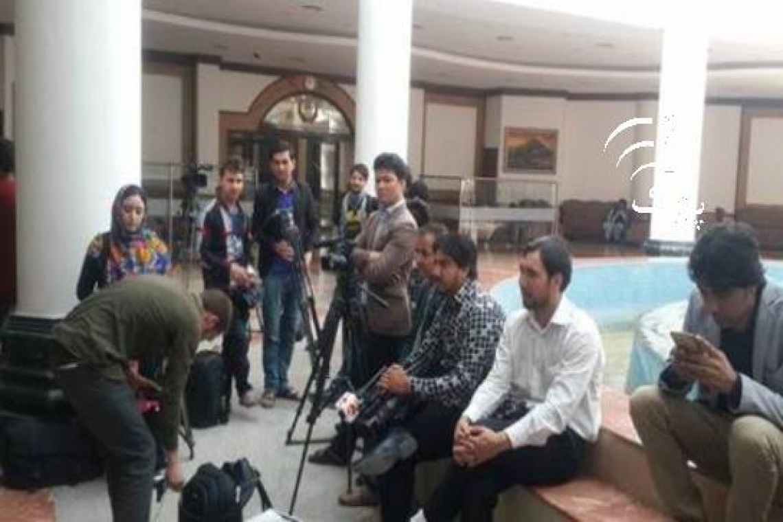 Journalists boycott Wolesi Jirga proceedings