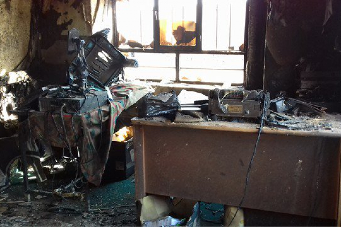 Second radio station attacked and burned to ashes in Ghor province