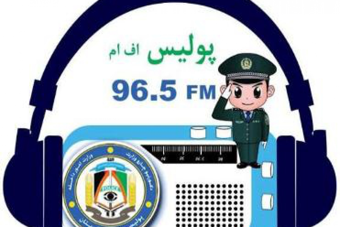 Afghan MoI Launches Public Police Radio