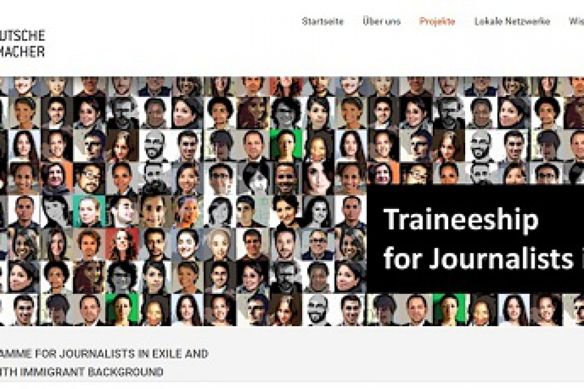 Trainee Program for journalists in exile and journalists with immigrant background