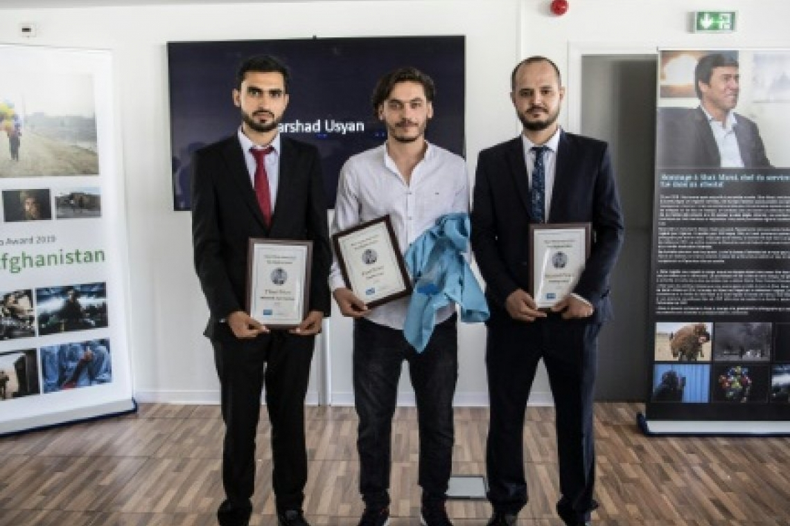 Three Afghan photographers awarded in first Shah Marai prize