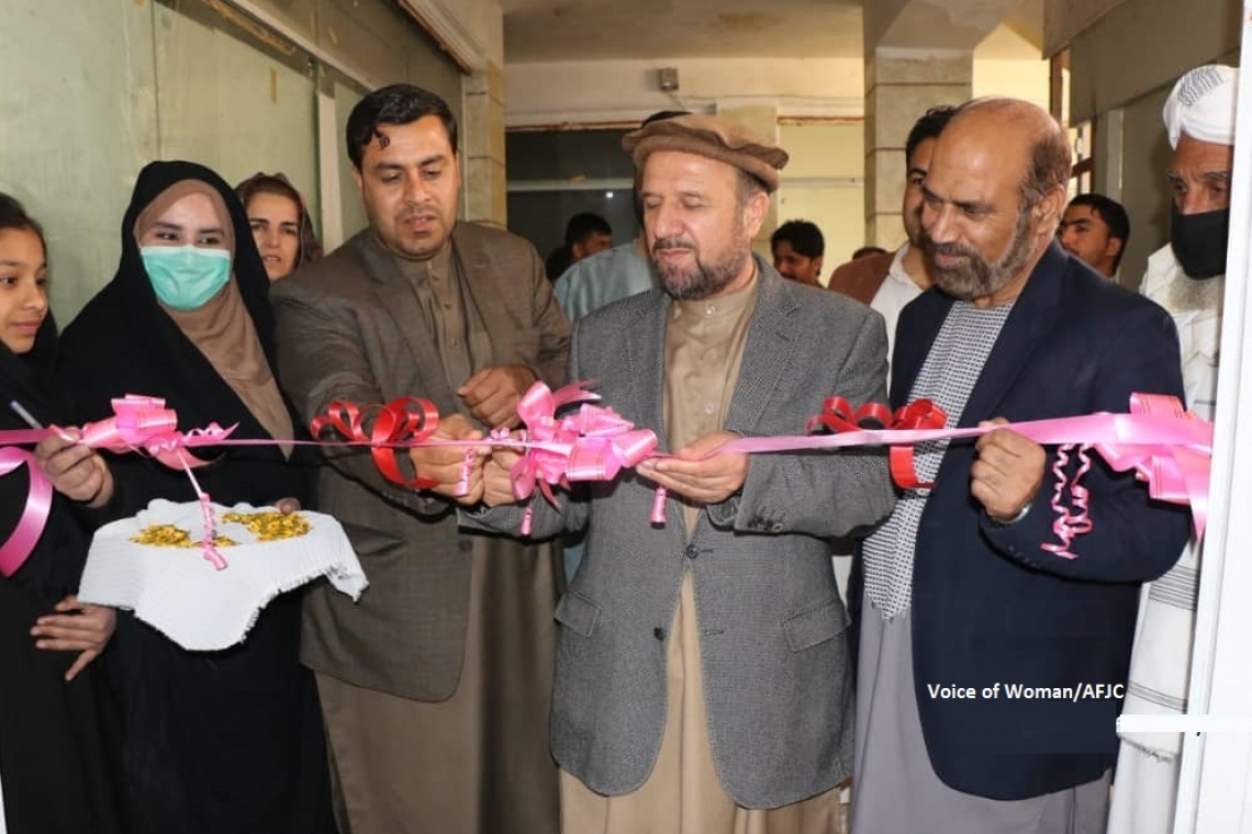 First FM station dedicated to women inaugurated in Farah province